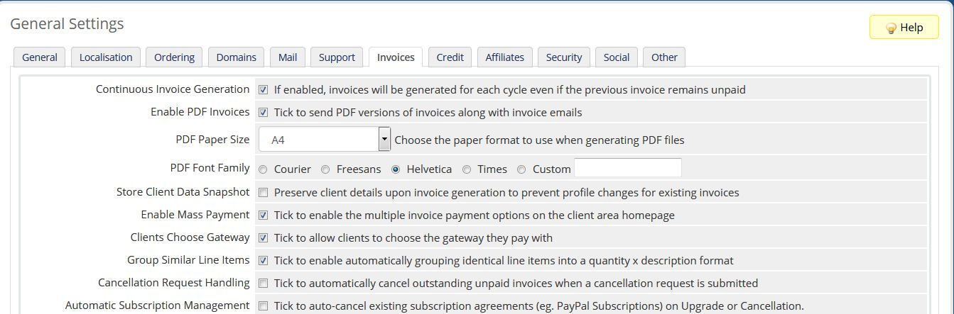 How to auto create invoice on next due day without any payment - invoices