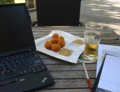 My Sunday virtual office in Nijkerk before a busy week