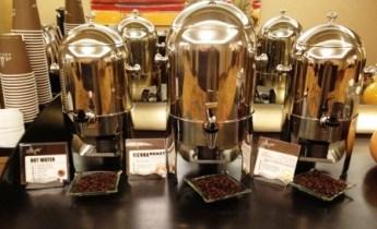 Tiered coffee