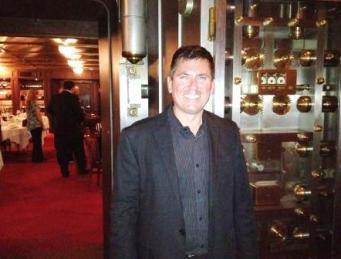 David Chapa of Quantum in bank vault
