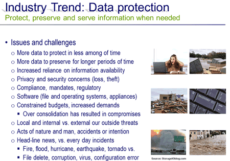 data protection threat risk scenarios