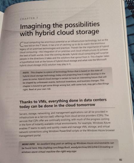 Looking inside Rethinking Enterprise Storage by Marc Farley