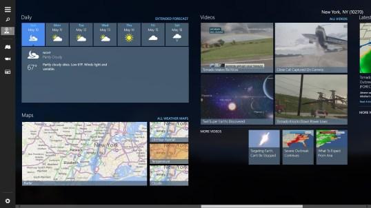 weather channel pc app