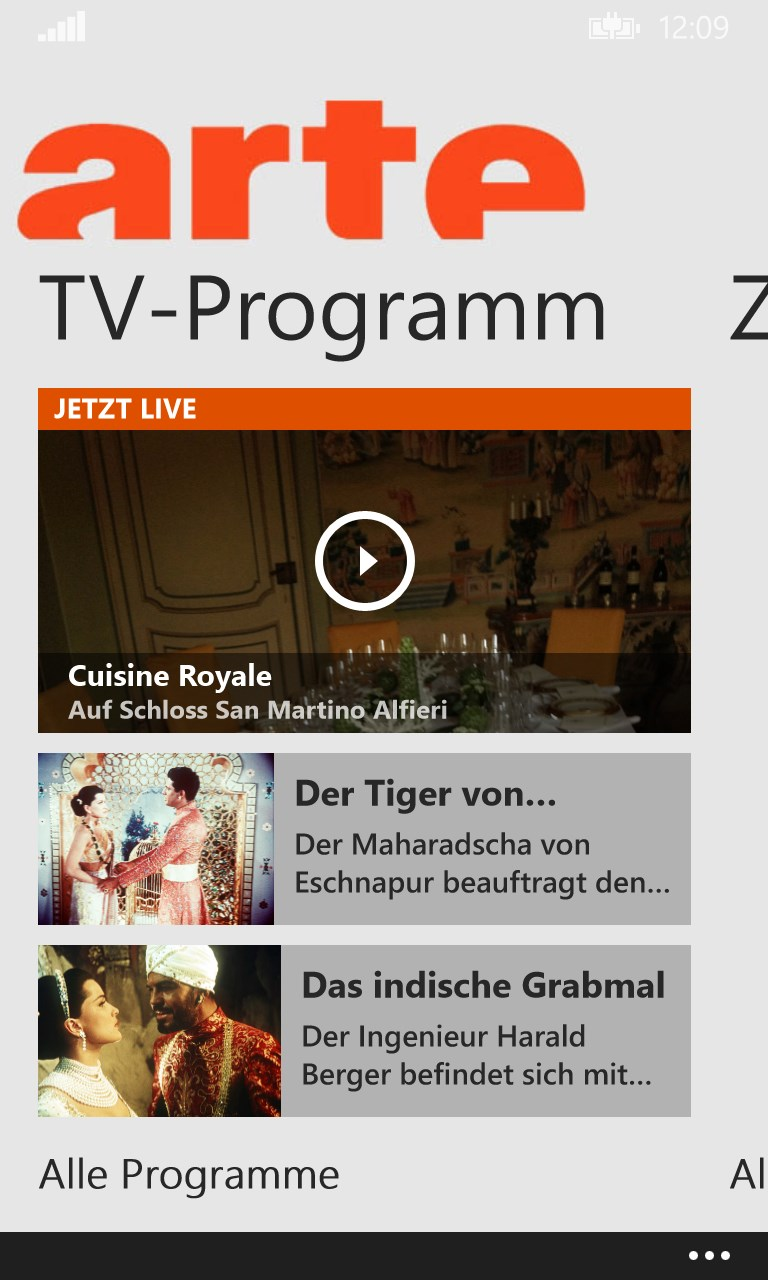 Arte Fernsehprogramm Gestern Arte Tv For Windows 10