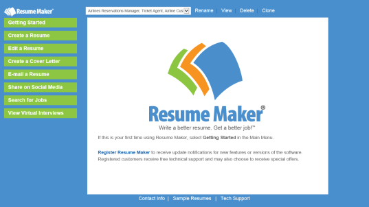 resume maker for pc free download