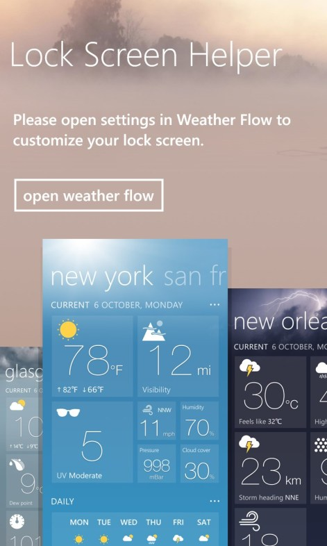weather channel app for windows 81
