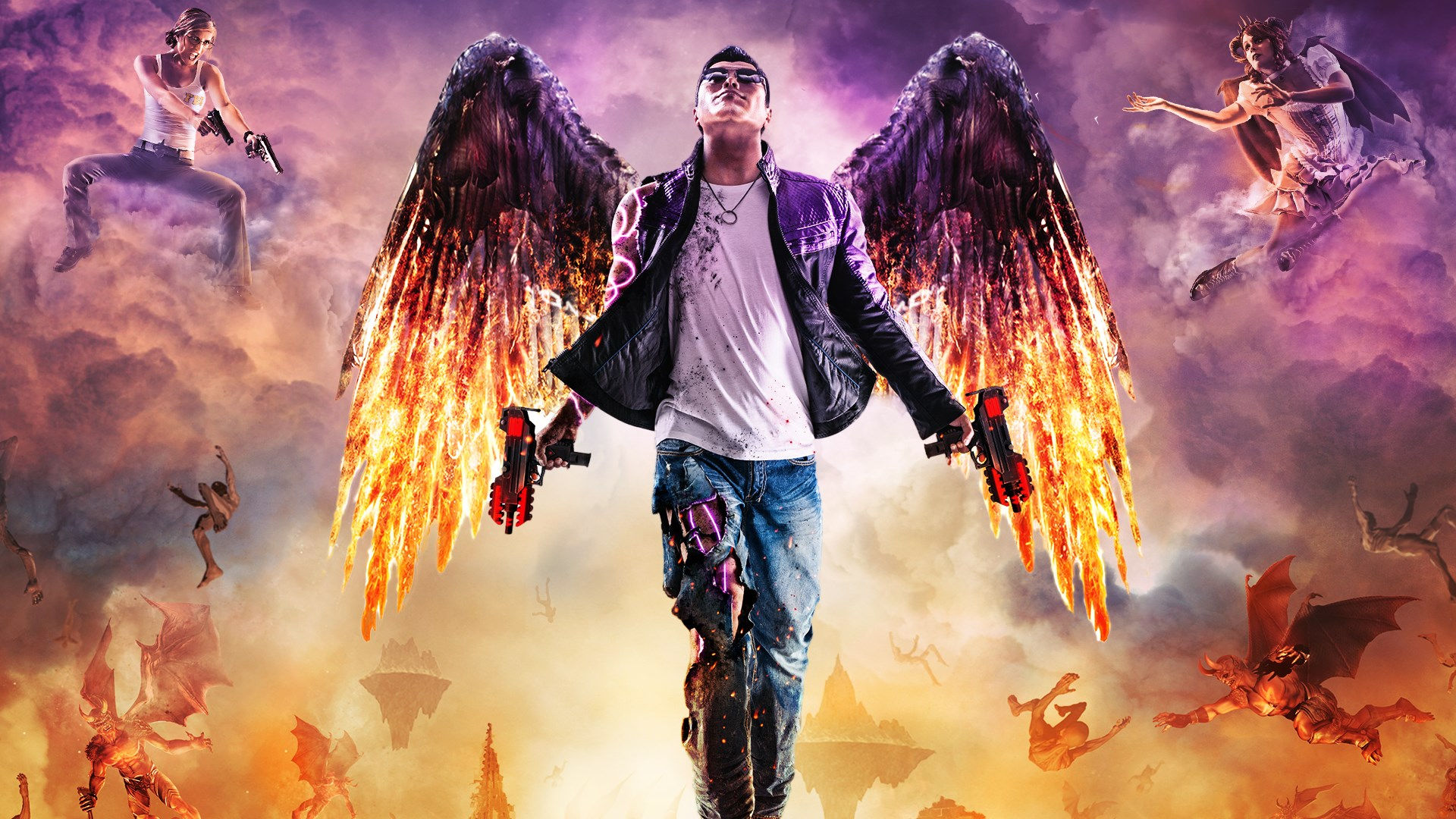Saints Row Gat Out Of Hell Sessel Saints Row Gat Out Of Hell Kaufen Microsoft Store De At