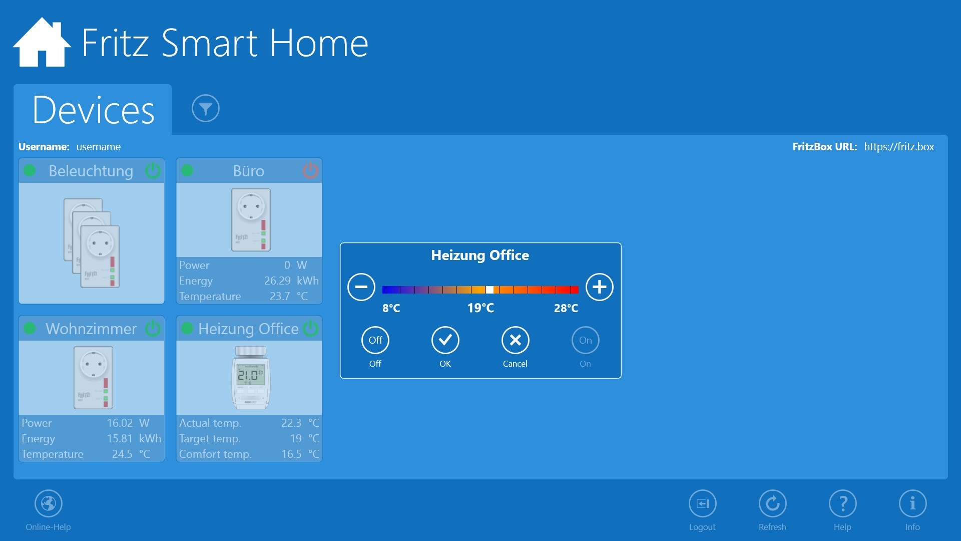 Fritz Smart Home For Windows 10 - Fritz Home