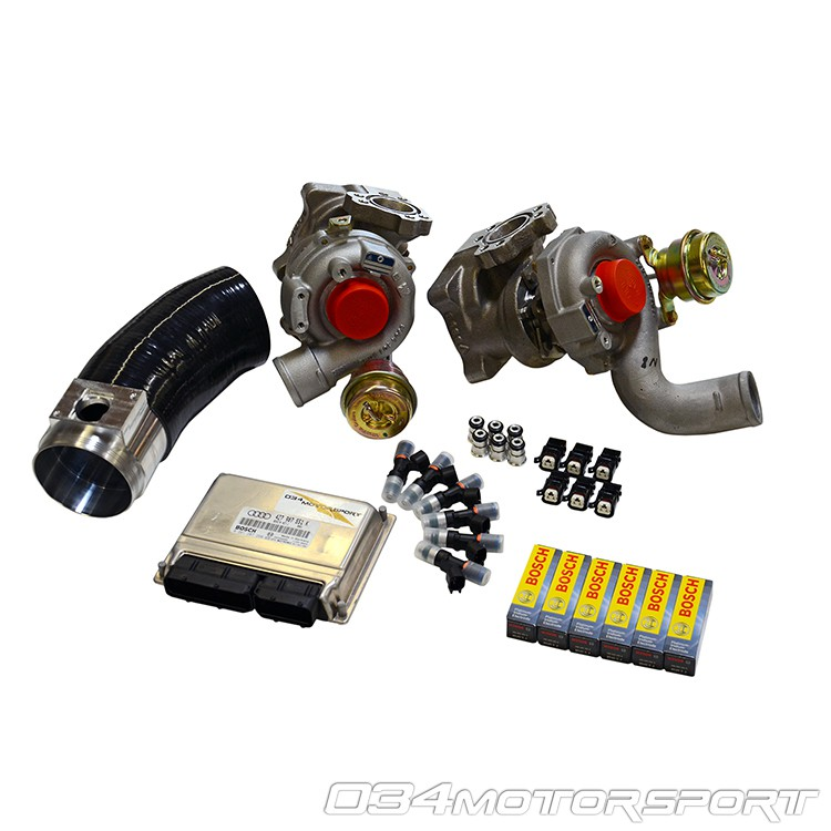 Turbo Kit, B5 Audi S4  C5 A6/Allroad 27T, Stage 3, RS4 K04 - 034