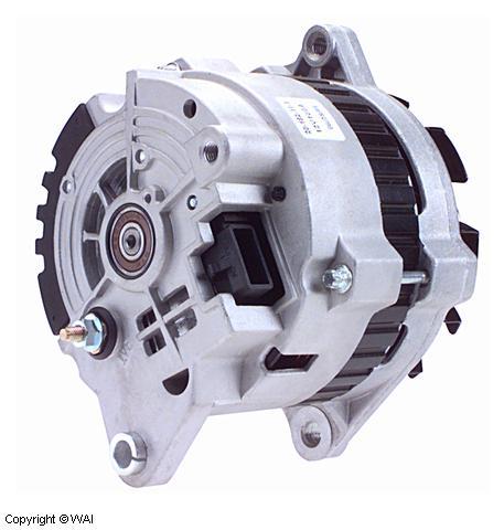 100 Amp Wiring Diagram 7960n 20189111 Alternator Delco Type Cs130 Series
