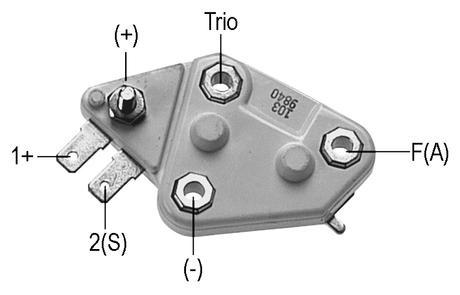 Voltage Regulator for 30Si Series Alternators