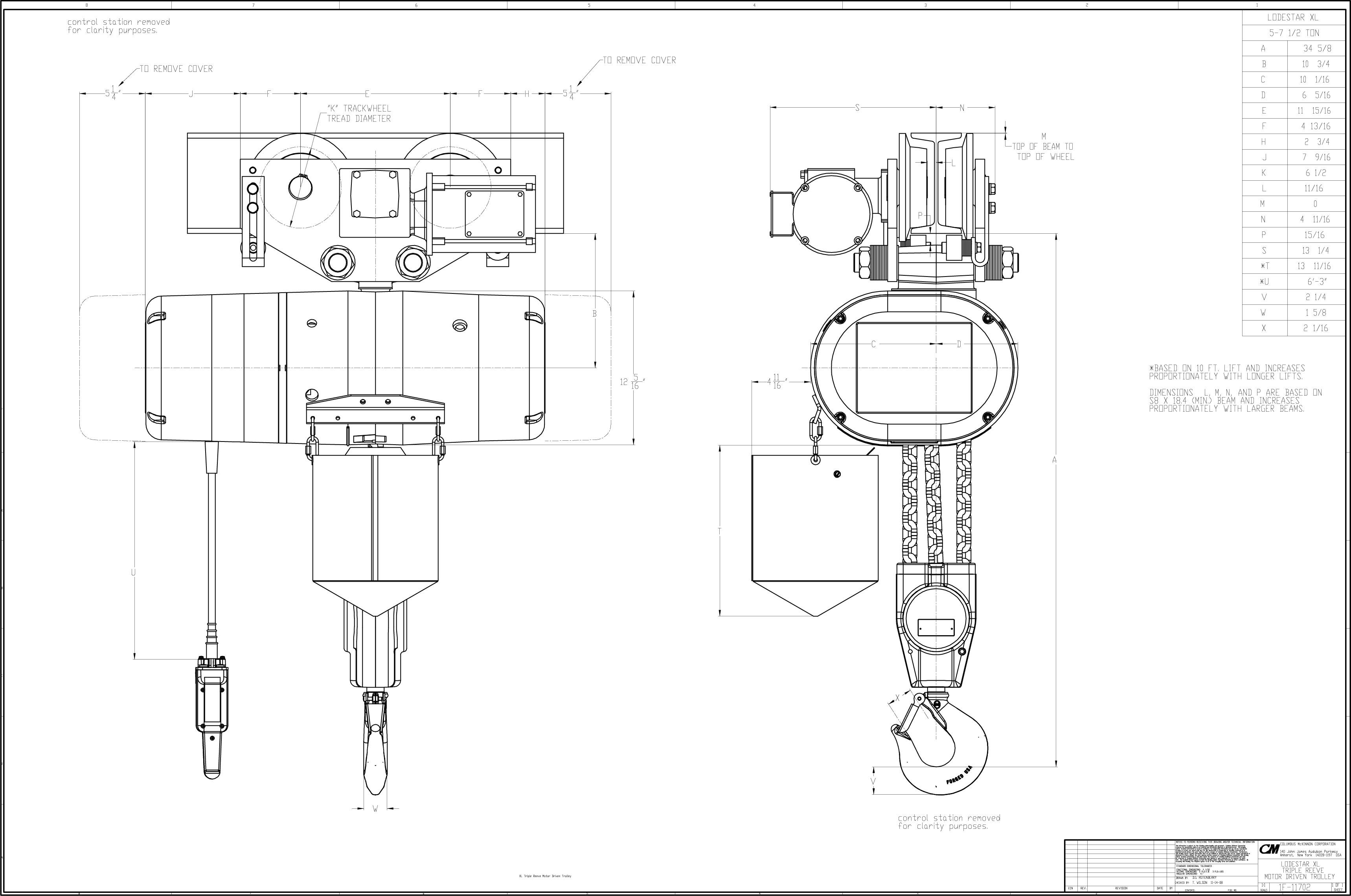 110 electric hoist wiring diagram power cord