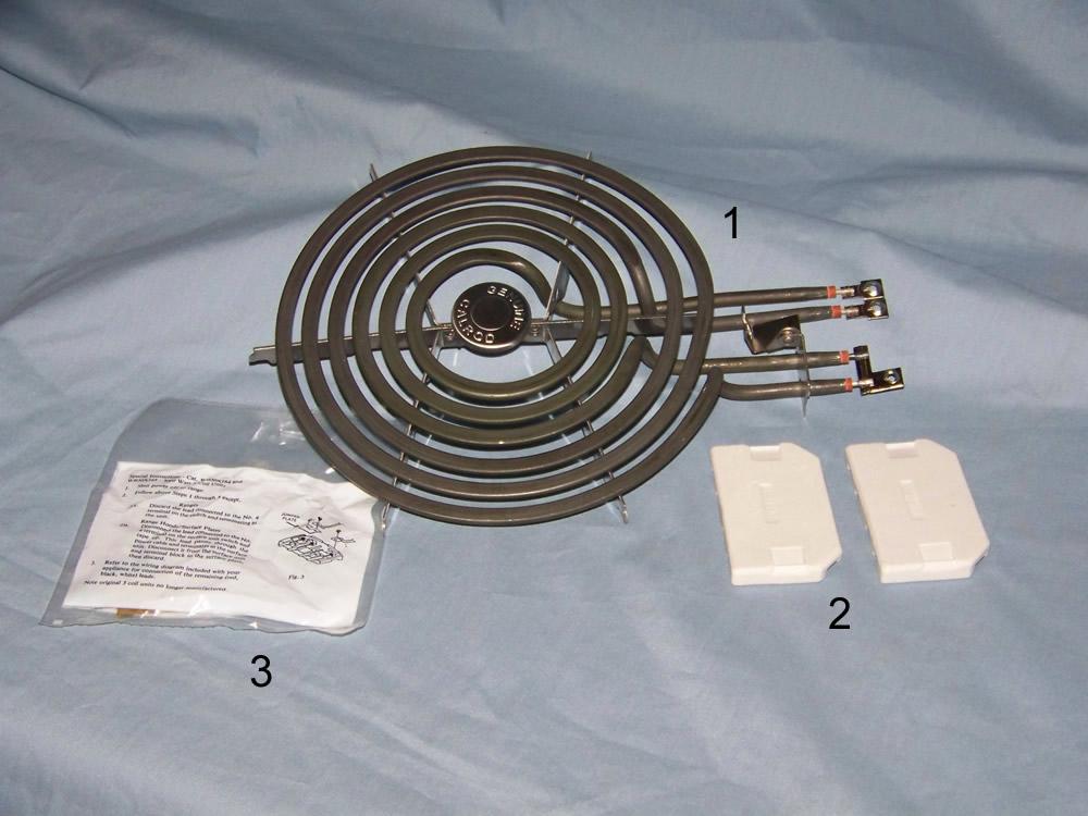 Large GE Surface Burner NT