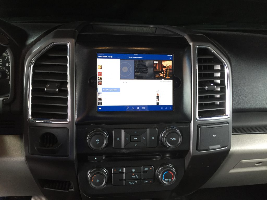 Car Window Replacement 2015 2016 2017 Ford F150 Ipad Mini Dash Kit - Audiodesigns