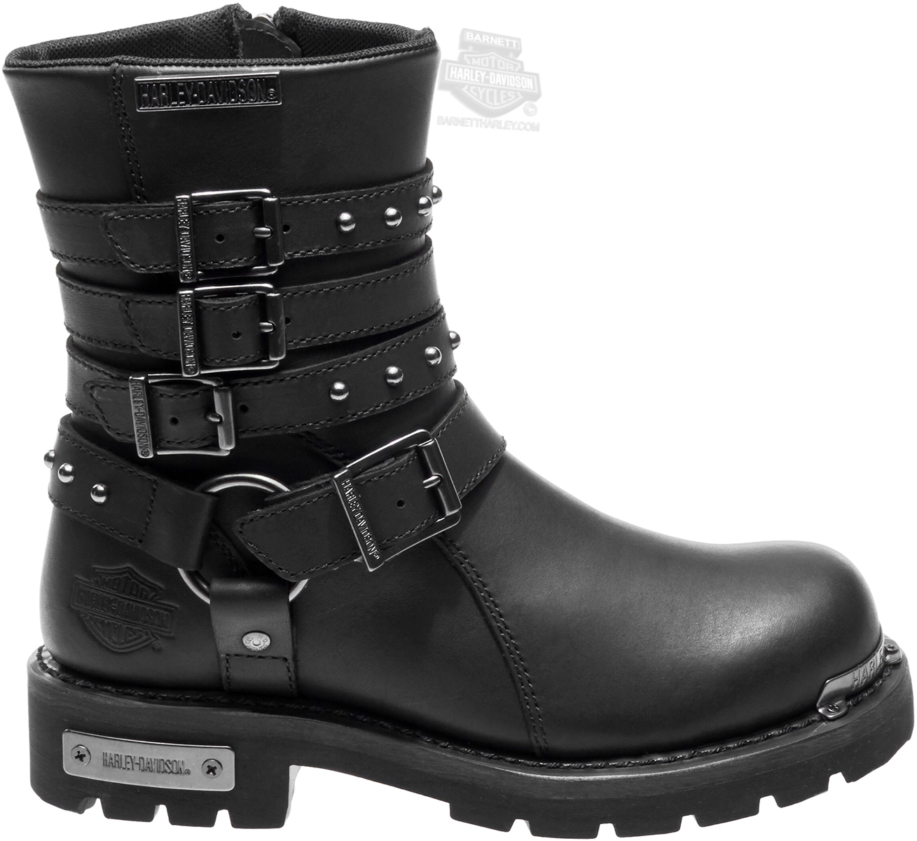 84013 Harley Davidsonr Womens Eddington Black Leather