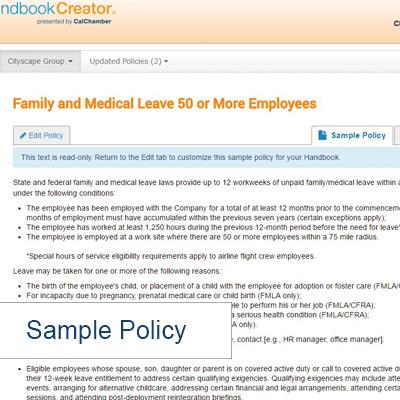 CalChamber Store - Product Details - California Employee Handbook