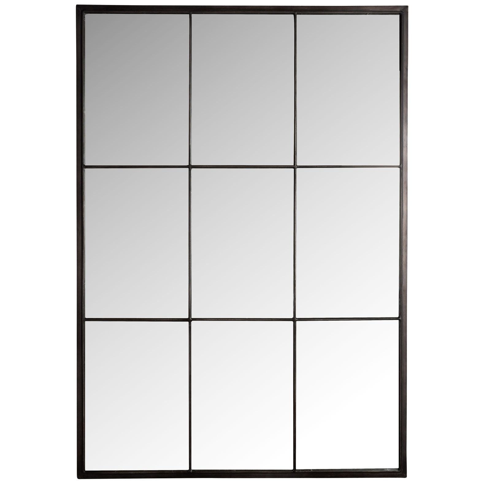 Loft Style Window Mirror Canvas 43sasson