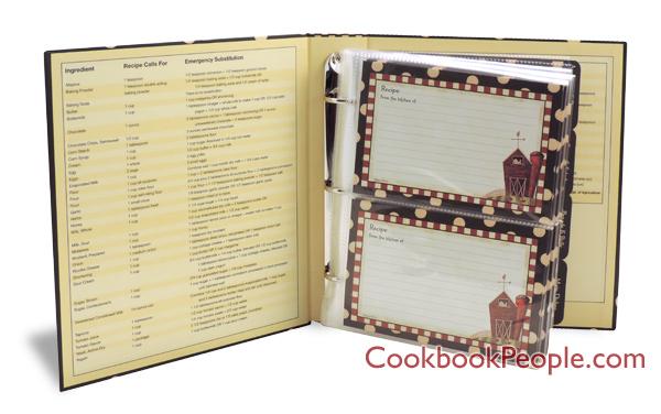 4x6 recipe binder