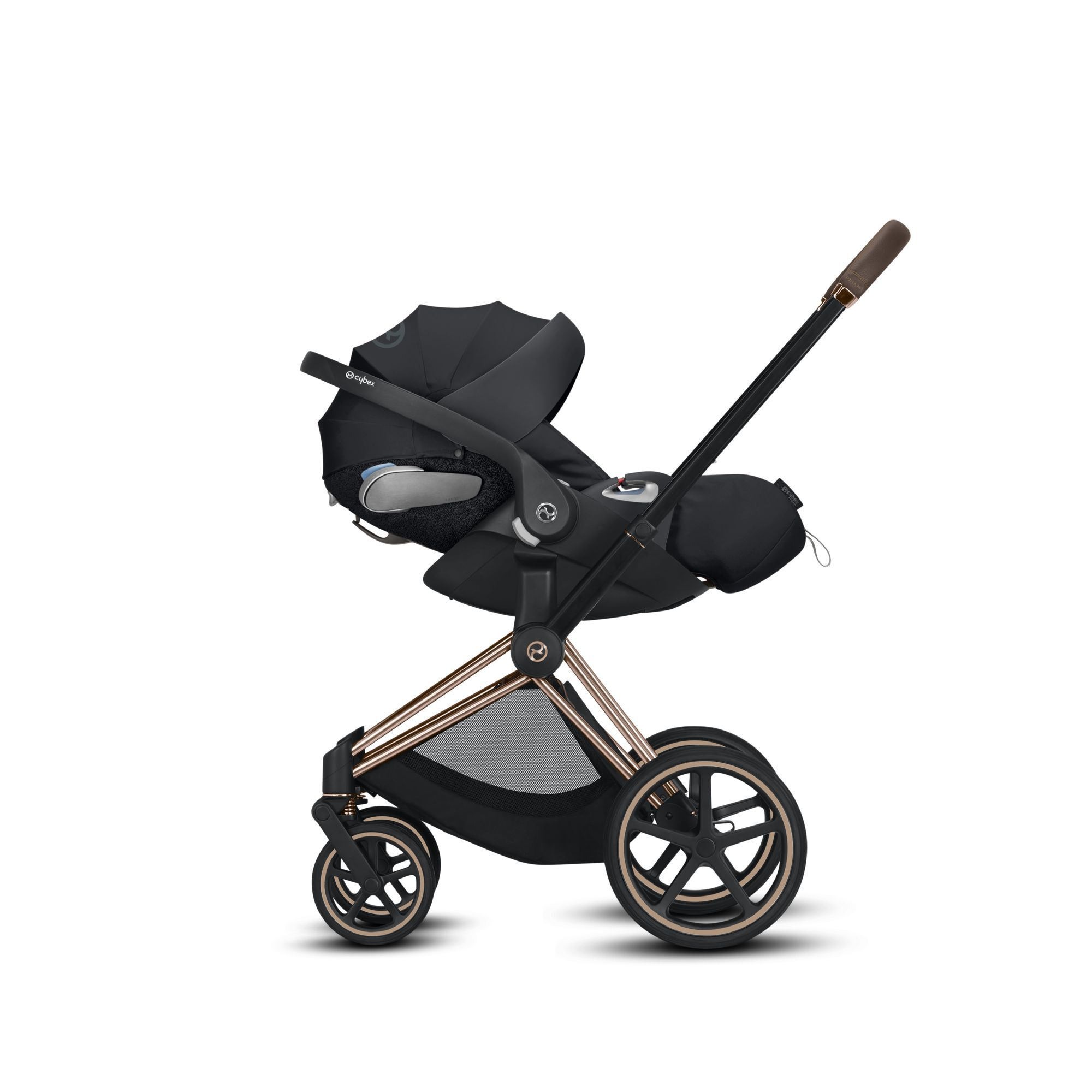 Cybex Stroller Support Cybex Priam Lux Seat Autumn Gold
