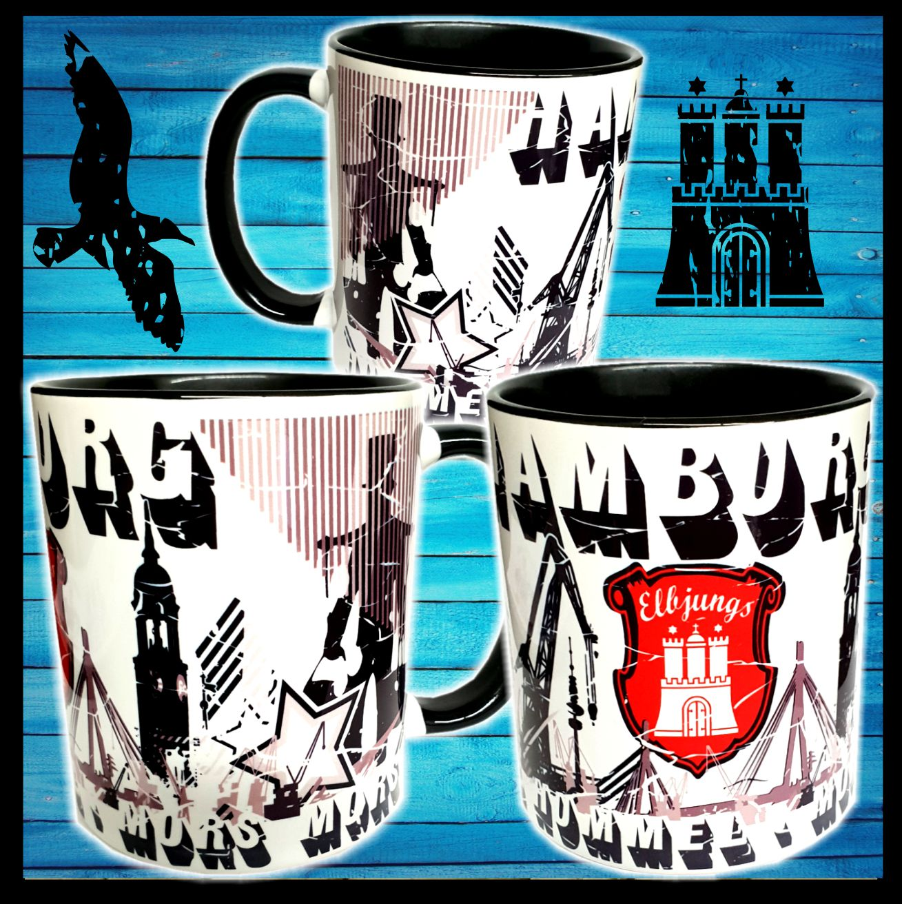 Hamburg Tasse Tasse Sweet Home Hamburg