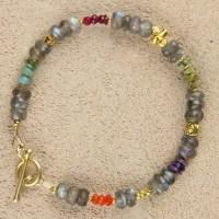 Labradorite Chunky Bracelet