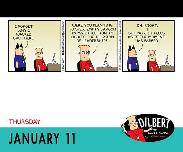 Dilbert 2018 Day To Day Calendar Gocomics Store