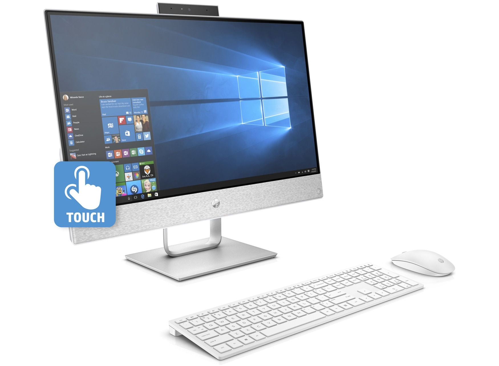 Hp Korting Hp Pavilion 24 X061nd All In One