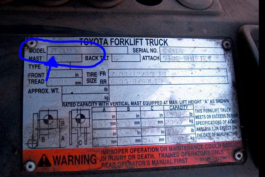 Toyota 7fgu25 Wiring Diagram - 3hyncapecoral-bootsvermietungde \u2022