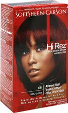 Hi-Rez Hair Color Kit #66 Ruby Quake