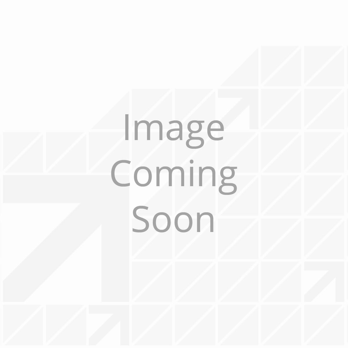 Kwikee® Miniature Rectangle Door Switch Kit - White