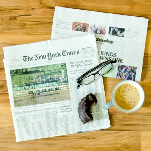 Sunday NYT subscription