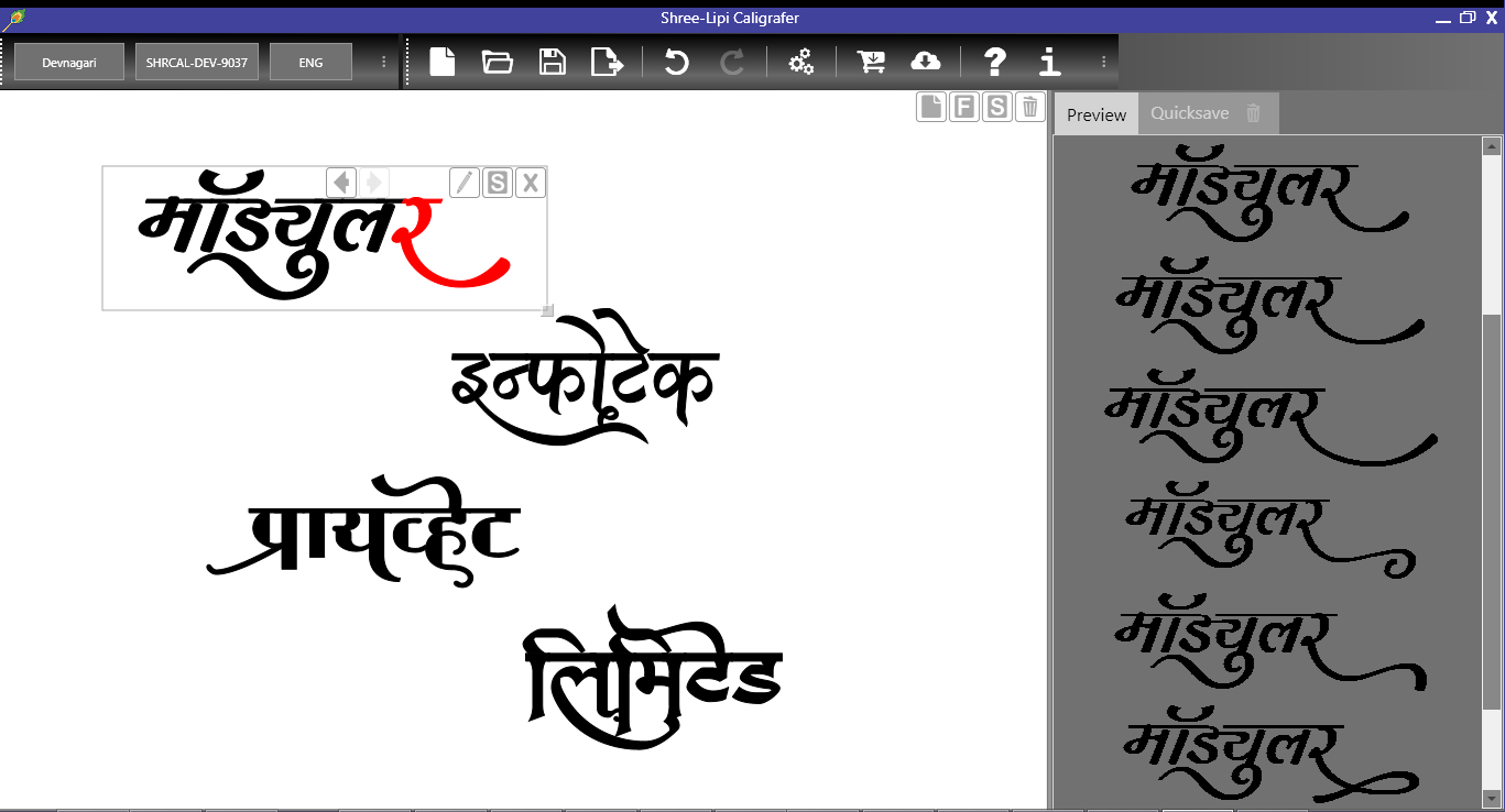 Calligraphy Fonts List Shree Lipi Caligrafer
