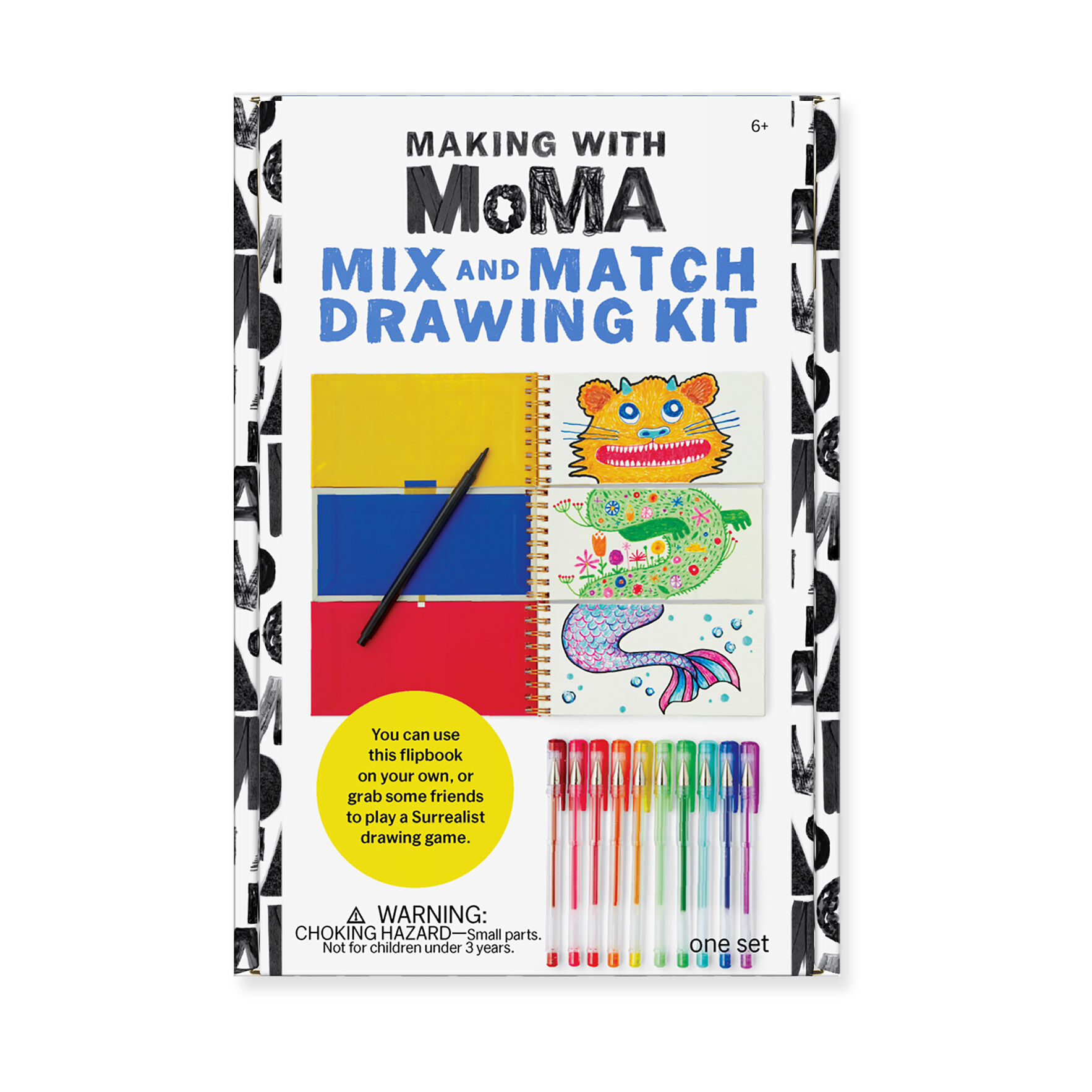 Mix And Match Making With Moma Mix And Match Drawing Book