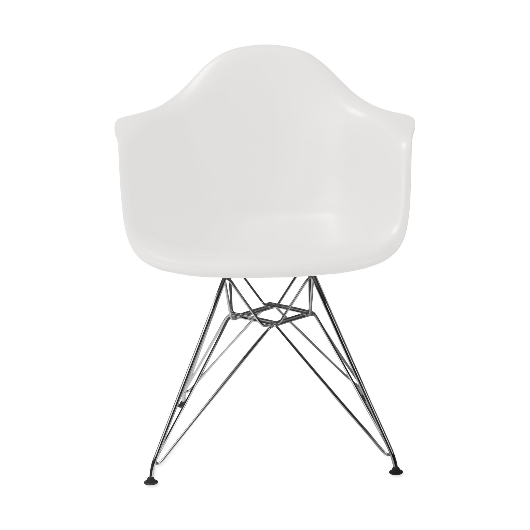 Eames Chair Dar Eames Molded Plastic Armchair With Wire Base Dar From Herman Miller
