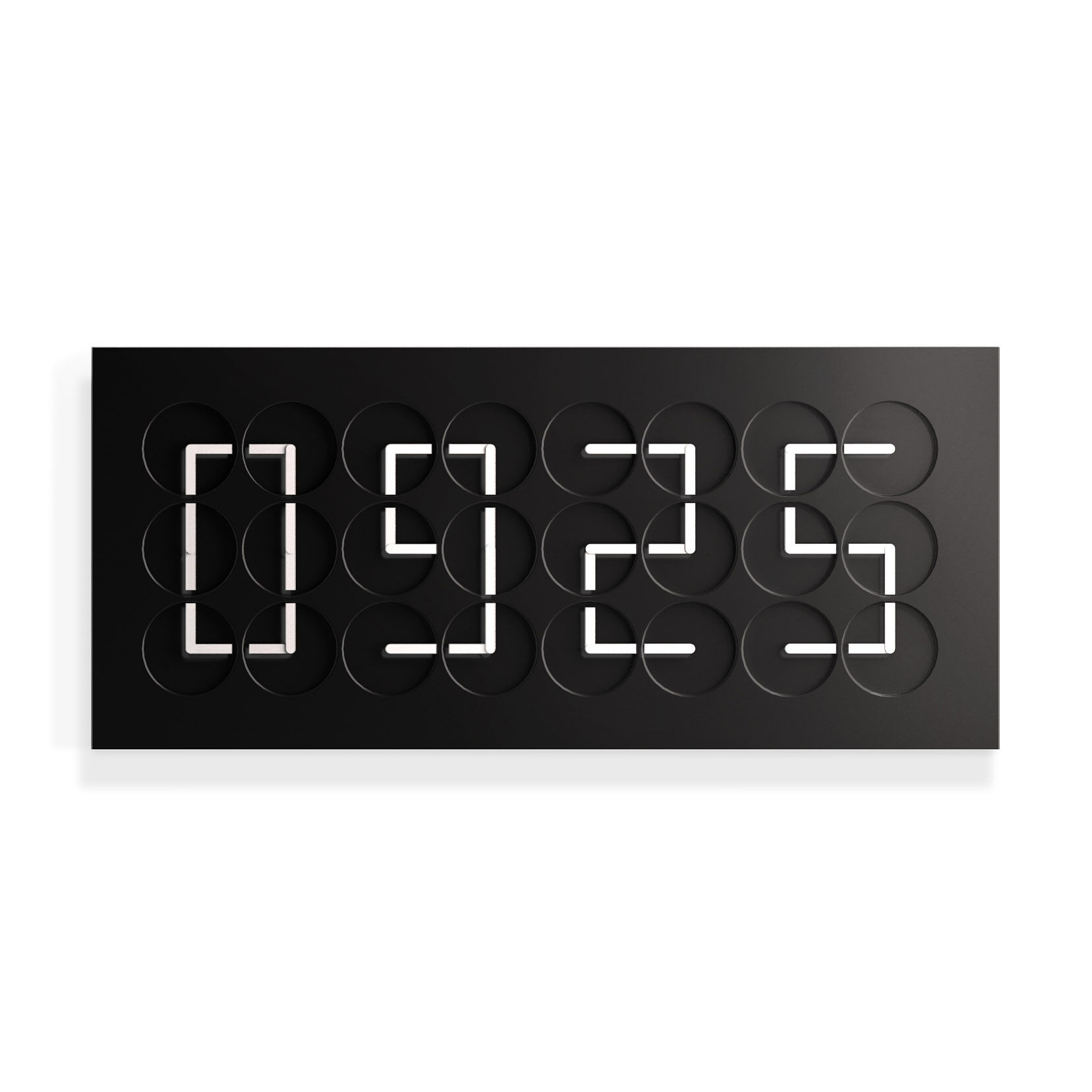 Buy Clock Clockclock 24 Black Edition