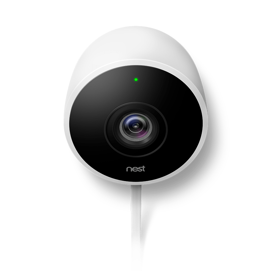 Camera Nest Alarm System With Outdoor Camera