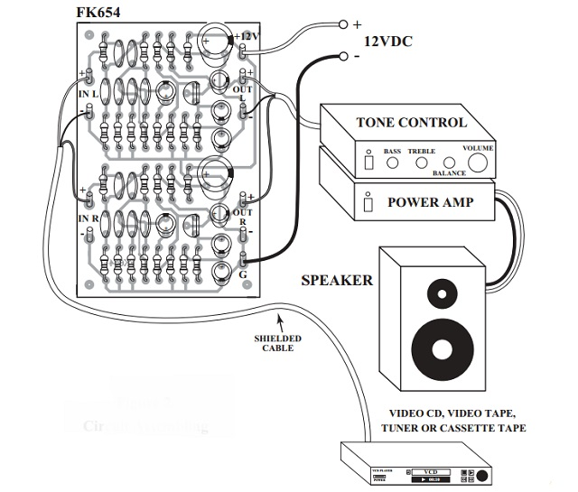 loudness sound circuit