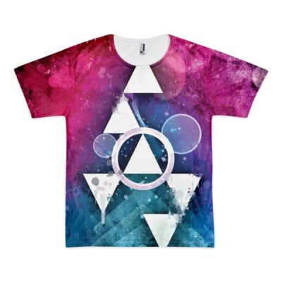 Scaling Summits – All-Over Abstract Tees (unisex) by Reformation Designs