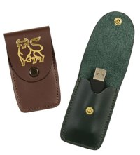 USB Flash Drive Case - Strong Leather