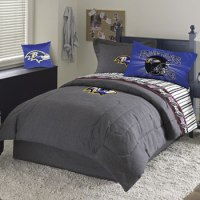 NFL Baltimore Ravens Queen Sheet Set - Bedding Sheets Set ...