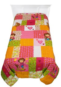 Dora Explorer Puppy Twin-Full Comforter - Love Perrito ...