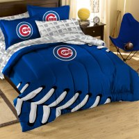 5pc MLB Chicago Cubs Comforter Set - Baseball Bedding Set ...