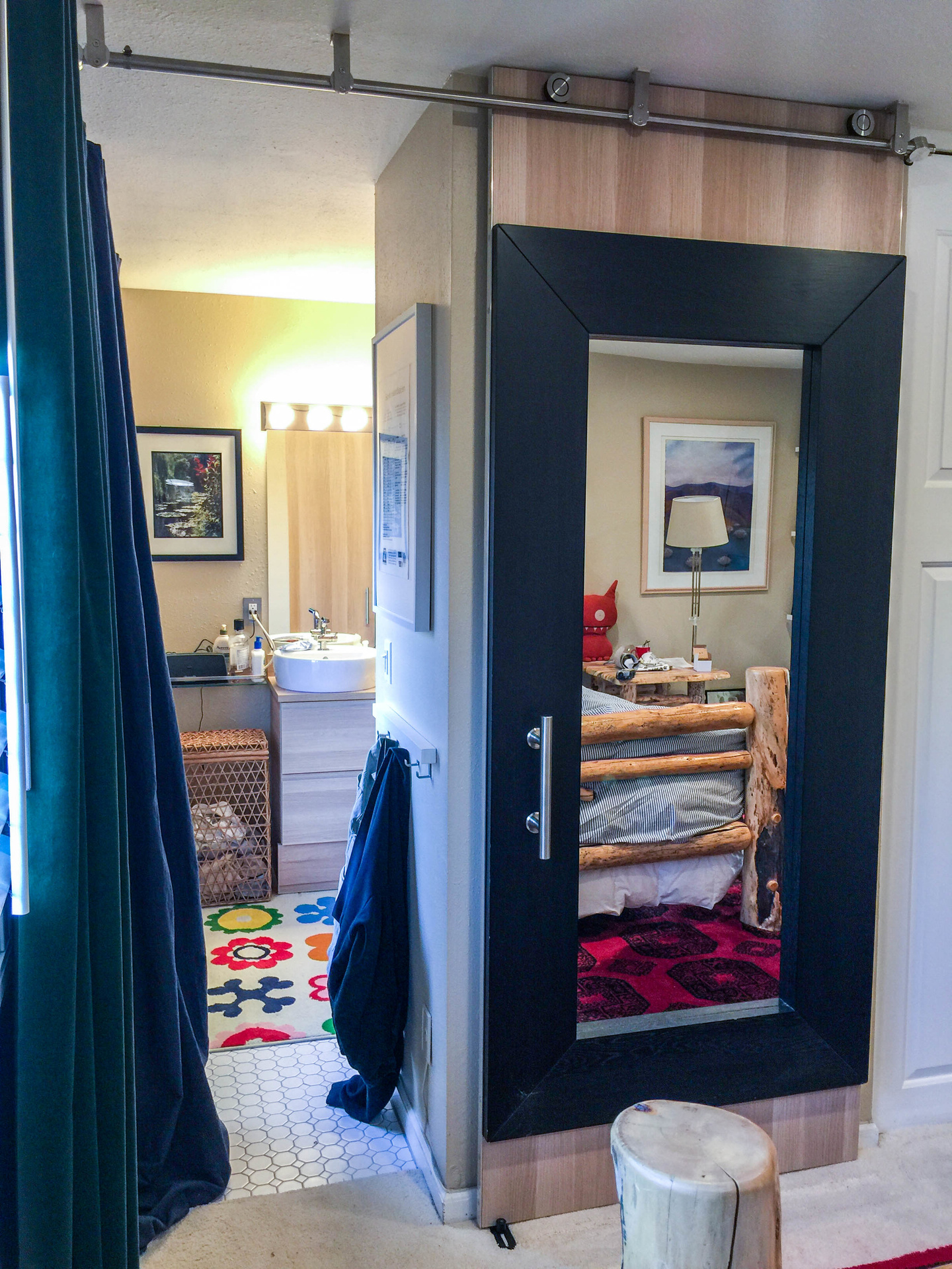 Ikea Wardrobe Leaning To One Side 2018apr Ikea Mirror Barn Door By Willis Chung
