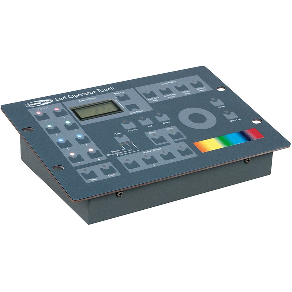 Led Dmx Showtec Led Operator Touch Dmx Controller For Rgbw Led Cans