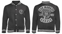 Gas Monkey Garage 'Logo' Baseball Style Varsity Jacket ...