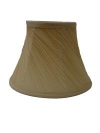 """10"""" Mushroom Swirl Pleated Ceiling Table Lamp Shade Cream ..."""
