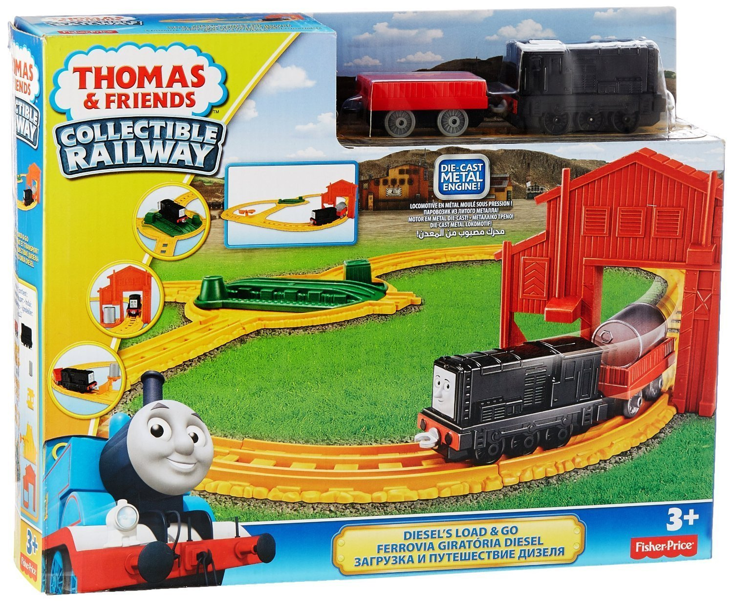 Bad Diesel Set Thomas And Friends Collectible Railway Diesel 39s Load And