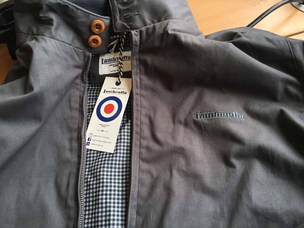 Mens Lambretta Classic Harrington Bomber Mod Ska Scooter