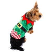 Christmas Novelty Pet Dog Costumes Xmas Festive Fancy ...