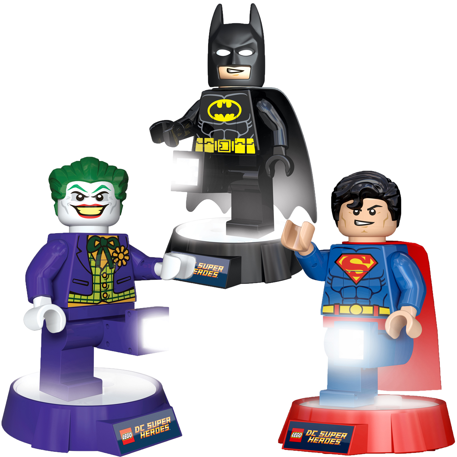 Lampada Batman Lampada Lego Superman Réveil Lego Superman Papel De